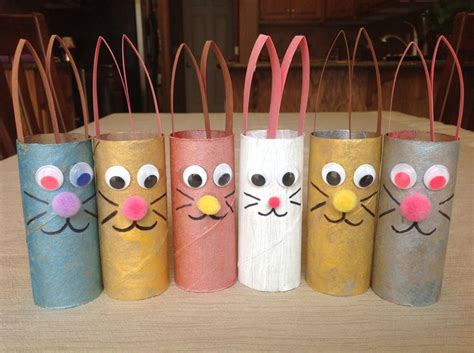 Crafts Using Toilet Paper Rolls - easter craft using toilet paper rolls toilet paper roll