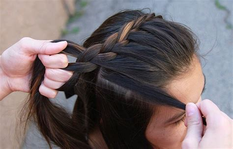 cute girl hairstyles how to french braid how to french braid diy projects craft ideas how to s
