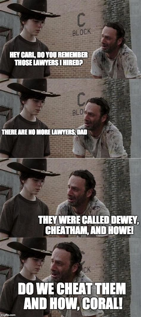 The Walking Dead Carl Meme - the walking dead meme rick and carl www imgkid com the