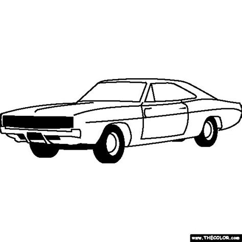 17 Best Images About Coloring Pages On Pinterest Cars Dodge Charger Coloring Pages