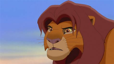 lion king 2 simba if instead of kiara there was nala rolling down the cliffs