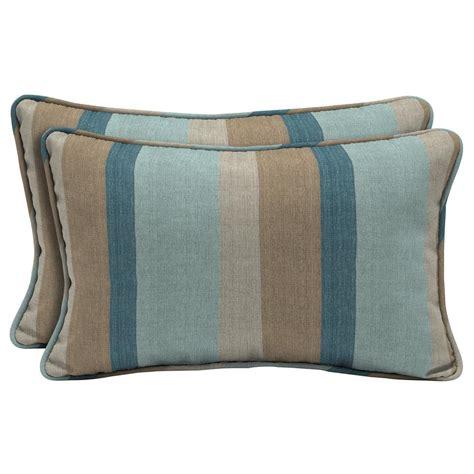 home decorators outdoor pillows home decorators collection sunbrella gateway mist lumbar