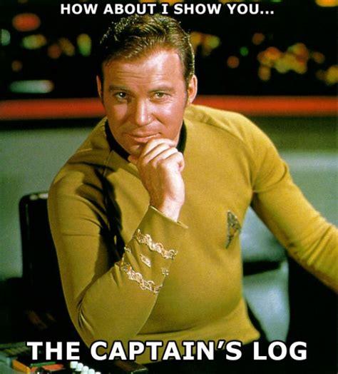 Captain Kirk Meme - captain kirk pick up lines halloween costumes blog