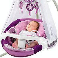 purple baby swings fisher price starlight papasan cradle swing in baby swings