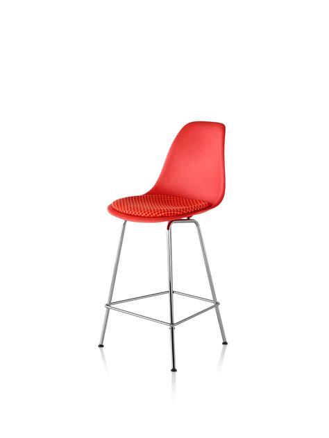 molded plastic counter stool eames molded plastic stool counter height upholstered