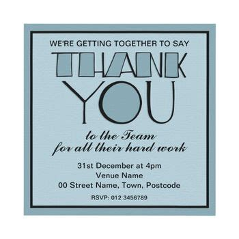 Event Thank You Cards