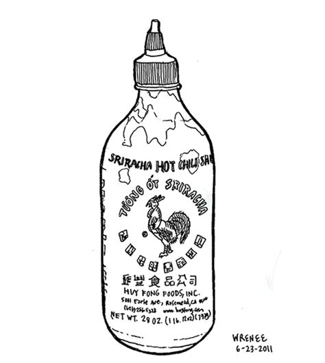 sriracha bottle clipart best budget friendly gluten free dairy free flavor