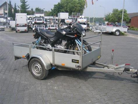Motorrad Transporter Moto 1 by Motorradanh 228 Nger Transporter F 252 R 1 Motorrad 900kg