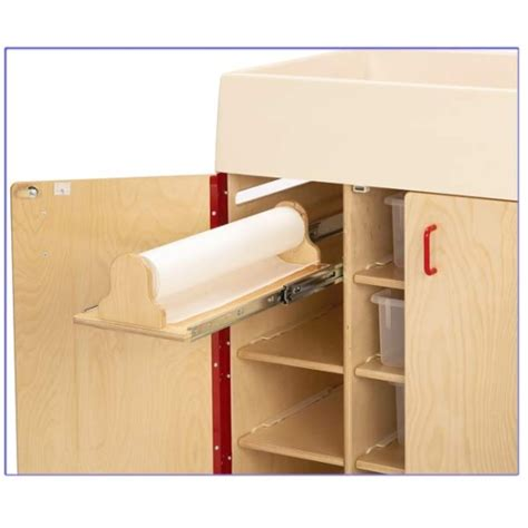 Jonti Craft Diaper Changer W Stairs Left 5145jc Jonti Craft Changing Table Paper