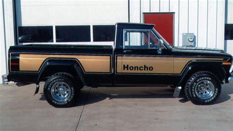 jeep honcho 1978 jeep j10 honcho 4x4 w124 indy 2012