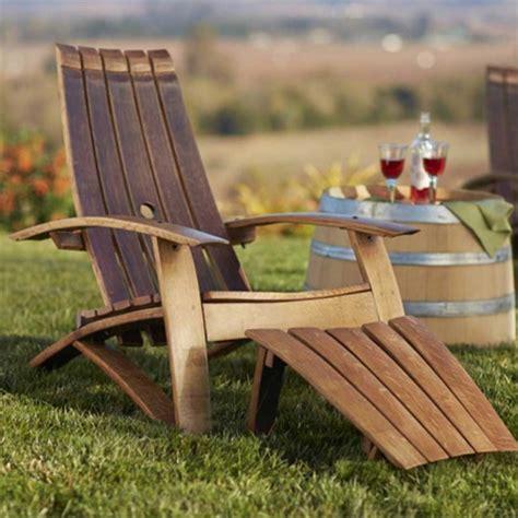 wine barrel outdoor furniture home dzine garden ideas garden furniture made from wine