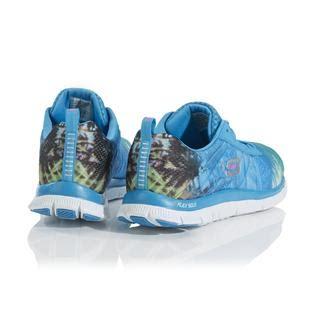 Skechers Skech Knit Green Blue Running skechers s trade winds skech knit athletic shoe
