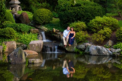 Japanese House And Garden by Pictures By Todd Photography Engagement Photos