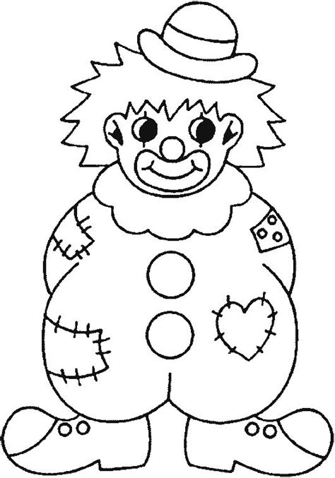 printable coloring pages clowns clown coloring pages coloring picture of a badly