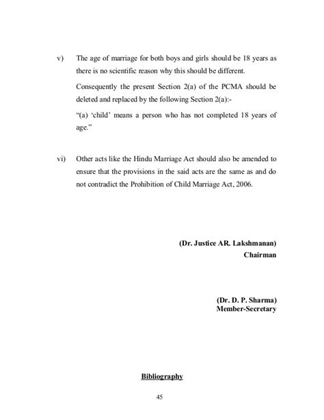 section 375 ipc amendment proposal to amend the prohibition of child marriage act
