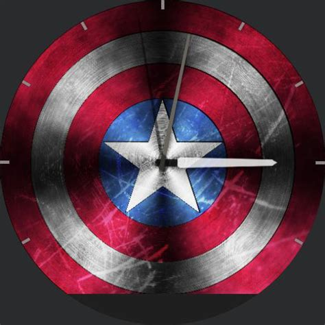 captain america 02 watchfaces for smart watches