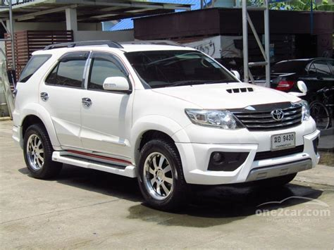 Toyota Fortuner 2 5 2012 toyota fortuner 2012 ป 12 15 g 2 5 เก ยร อ ตโนม ต ส