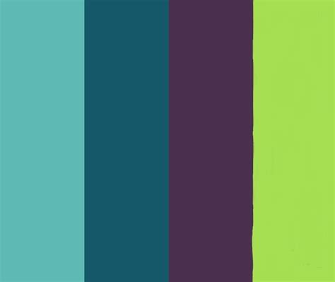1000 images about color palette for peacocks on paint colors plum wedding colors