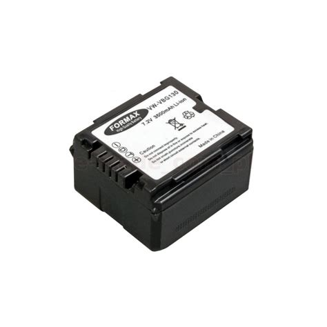 Panasonic Vbg 130 E Baterai Kamera battery replacement vw vbg130 for panasonic