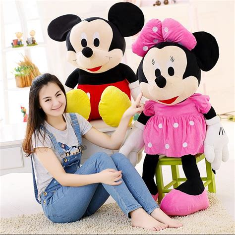 Ailubee Piyama Minnie Mouse Kidsz aliexpress buy 1pcs new arrival sale 70cm mickey mouse minnie mouse stuffed animals