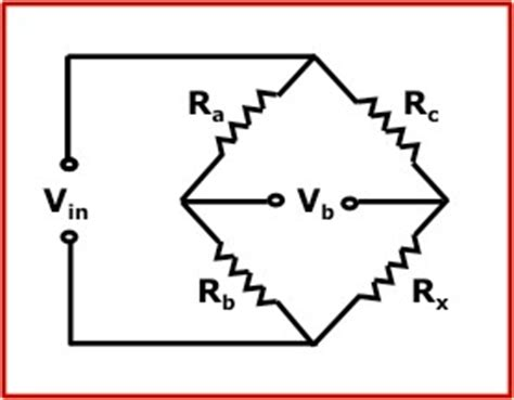 wheatstone bridge of resistors wheatstone bridge calculator calculate bridge voltage and resistance