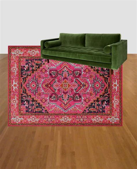 pink and green rugs for room colorful living room refresh green and pink rug and then we tried