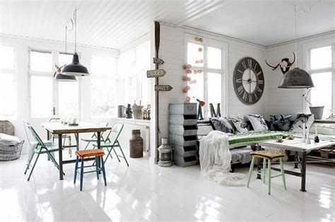 retro style home decor industrial and yet vintage interior design