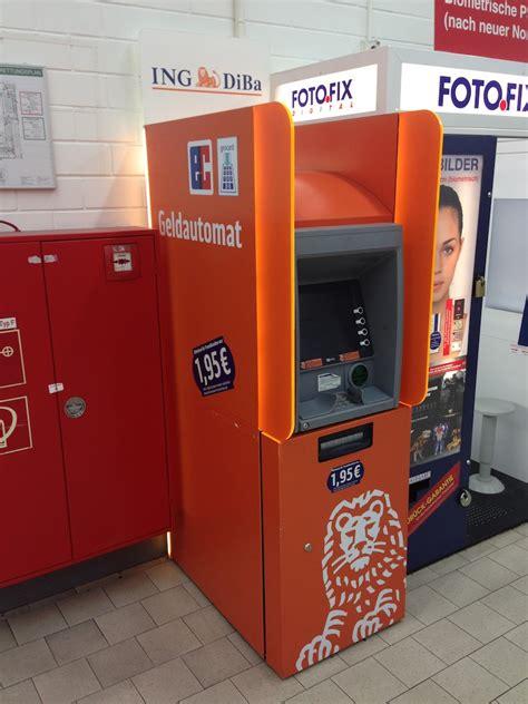 ing diba bank berlin ing diba geldautomat einkaufscenter konto mit kreditkarte