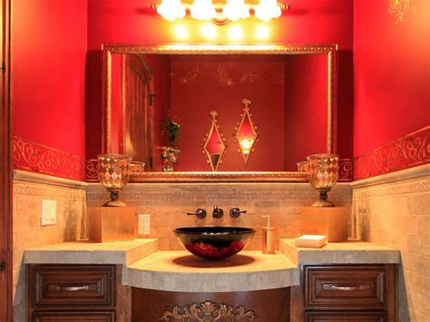 red bathroom decor pictures ideas tips from hgtv hgtv rustic bathroom decor ideas pictures tips from hgtv hgtv