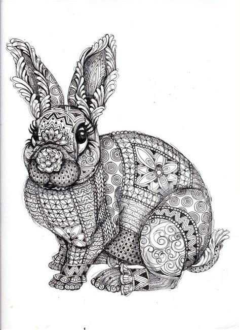 doodle draw easter bunny doodle image 2703165 by taraa on favim