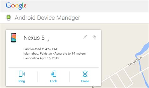 android device manager use to locate your misplaced android phone