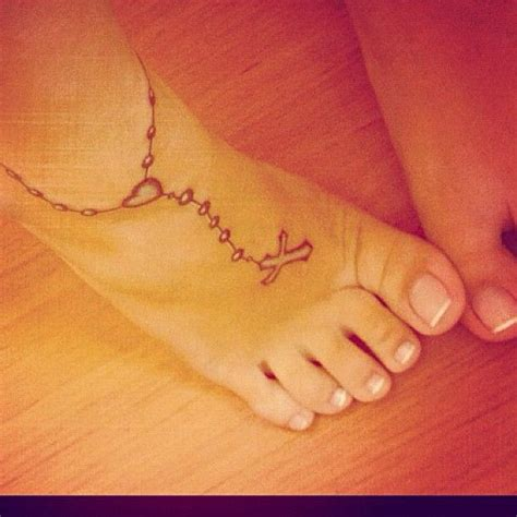 side of foot tattoo 17 best ideas about rosary foot tattoos on