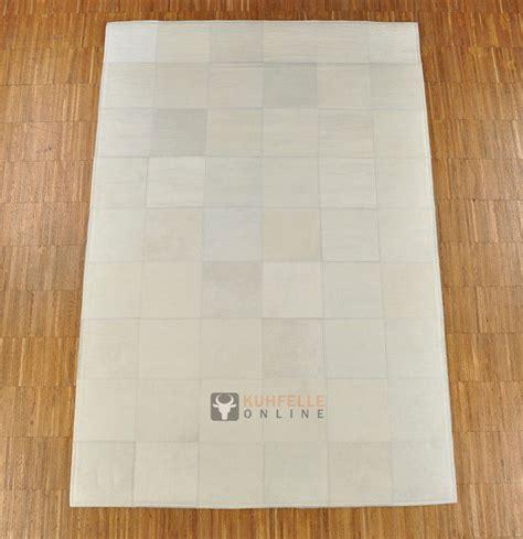 kuhfell teppich kuhfellteppich patchwork weiss 180 x 120 cm