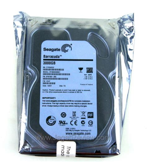 Hdd Disk Seagate Barracuda 3 Tb Resmi review seagate barracuda 3tb disk kencang dengan