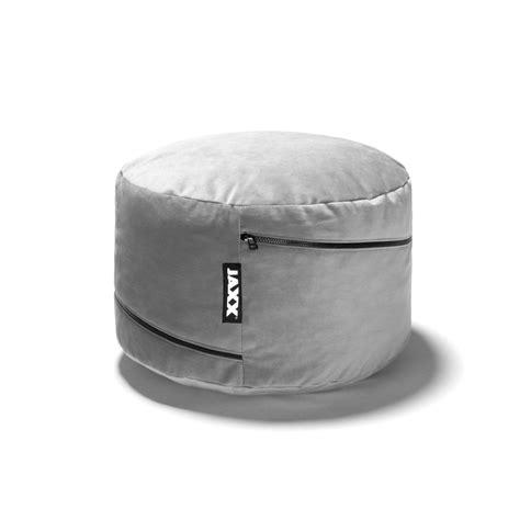 round bean bag ottoman jaxx peachtree pouf round bean bag ottoman black
