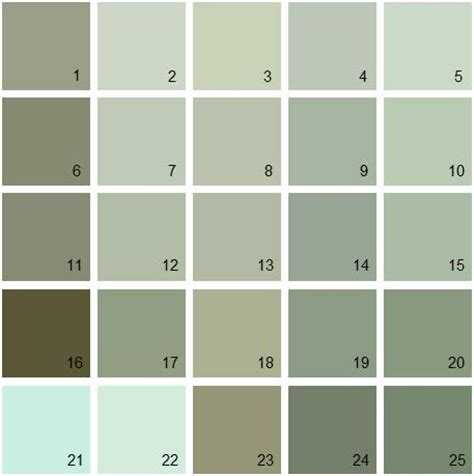 greenish gray paint find your paint colors fast and easy with house paint