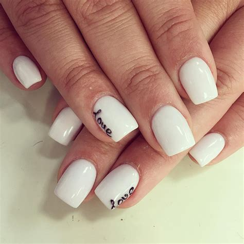 best nailcolors for short nails 20 best images of white nail designs 2017 sheideas