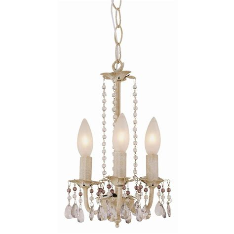 Bel Air Lighting Chandelier Bel Air Lighting Stewart 3 Light Antique White Incandescent Ceiling Chandelier 50308 Aw The
