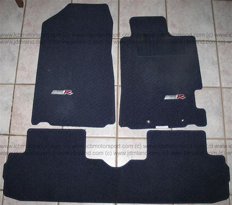 Rsx Type S Floor Mats by Used Jdm Integra Dc5 Type R Floor Mats Blue Sold