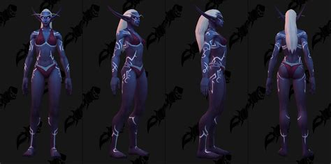 nightborne male allied race customization options page 5