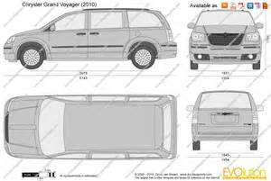 Chrysler Voyager Dimensions The Blueprints Vector Drawing Chrysler Grand Voyager