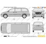 The Blueprintscom  Vector Drawing Chrysler Grand Voyager