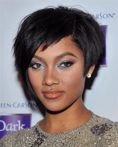 hairstyles black hair short trendy short hairstyles for black women wardrobelooks com