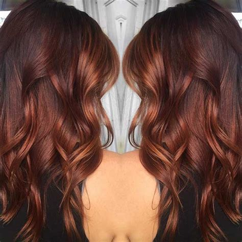 copper brown toner hair 25 copper balayage hair ideas for fall page 2 of 3