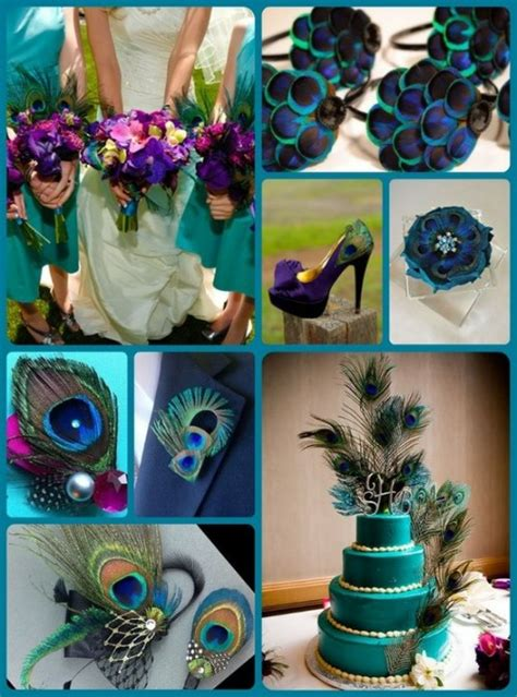 peacock wedding on