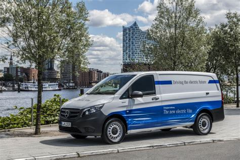 Mercedes In Germany by Mercedes Introduces Electric Delivery Vans With An