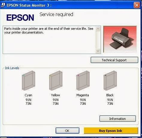 reset epson t13 waste ink pad my learning experience epson resetter waste ink pad counter