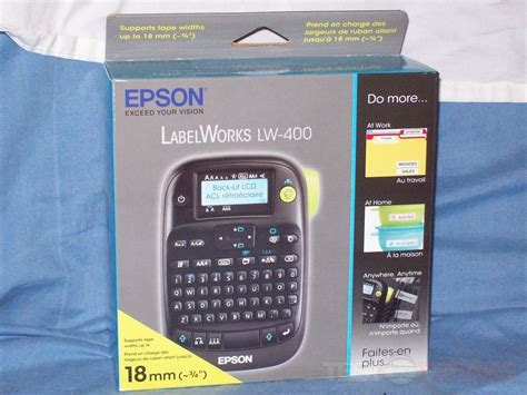 Label Maker Epson Lw 400 20170227 review of epson labelworks lw 400 label printer technogog