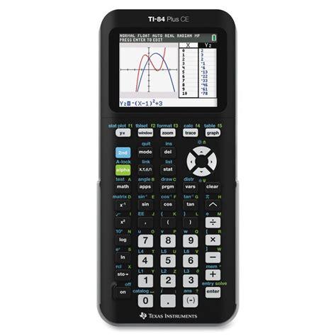 ti 84 plus silver edition texas instruments refurbished texas instruments ti 84 plus c graphing calculator