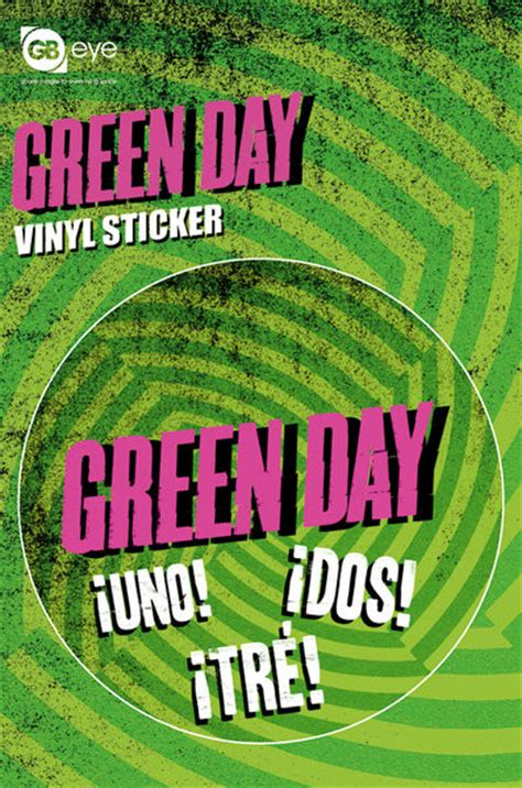 Green Day Stickers